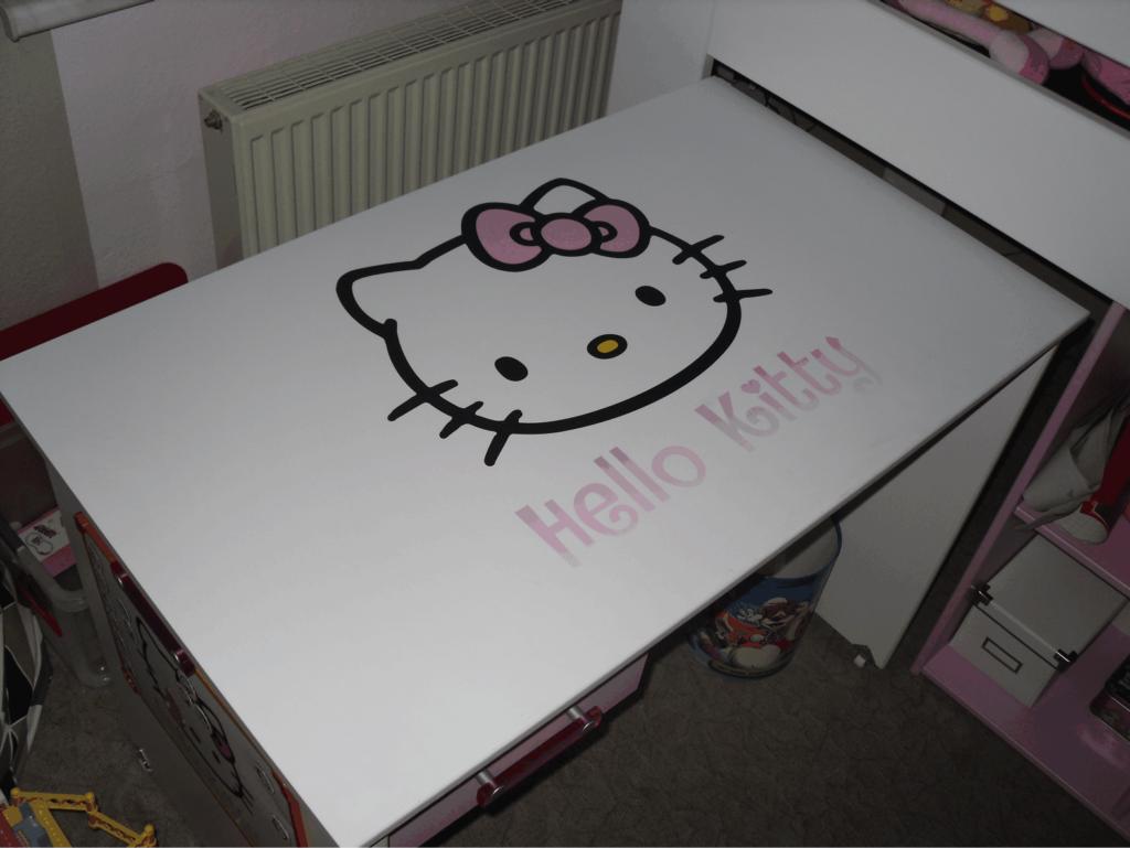 Schreibtisch kitty